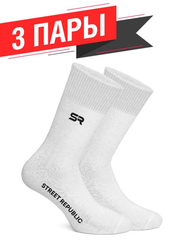 Белые носки Street Republic